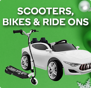 Scooters, Bikes & Ride Ons