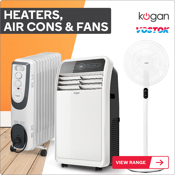 Heaters, Air Cons & Fans