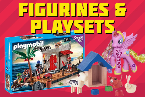 Figurines and Playsets