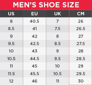 Skechers Size Chart Mens